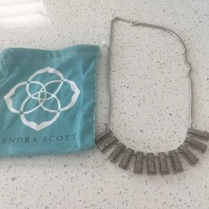 Kendra Scott statement necklace.